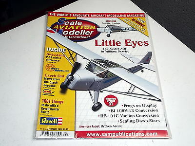 Scale Aviation Modeller 2010 Feb - Auster AOP in Military Service RF-101C Voodoo