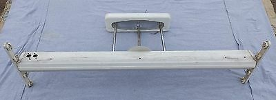 "Vintage Mid Century 48"" Fluorescent Ceiling Light Industrial Steampunk 5271-15"