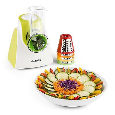 Electric Vegetable & Fruit Slicer Nuts Cheese Grater Machine Cutter 150W Green