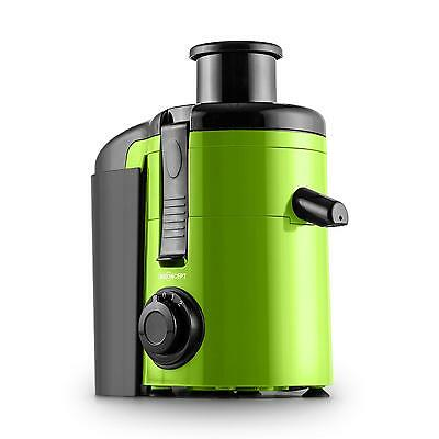 Electric Slow Juicer 250W 11,000 Rpm Large Vegetable Fruit Tube - Green