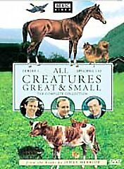 All Creatures Great and Small -Series One Brand NEW (DVD, 2002, 4-Disc set) BBC