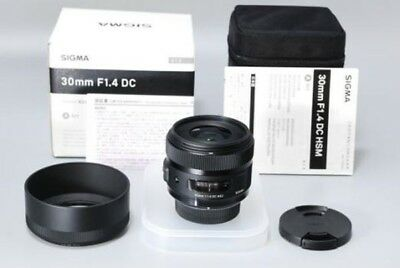 SIGMA single-focus standard lens Art 30mm F1.4 DC HSM for Canon APS-C only