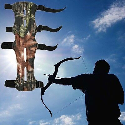 Camouflage Archer Armguard Arm Guard Protector Shooting Compound Bow GT