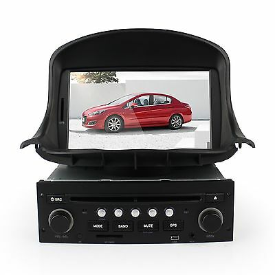 """For 98-09 Peugeot 206 7"""" Touch Screen DVD Player Radio RDS Car GPS Navigation"""