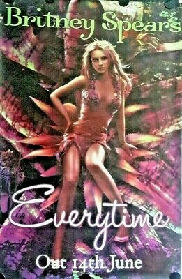 BRITNEY SPEARS  Orig. Promo Poster 39x60 FREE INT.SHIPPING