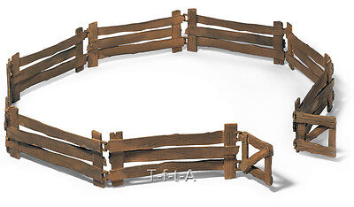 FREE SHIPPING | Schleich 42006 Corral Fence for Toy Animals - New in Package