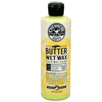 (EUR48,52/L) Chemical Guys Butter Wet Wax  - Carnauba Wax 473 ml