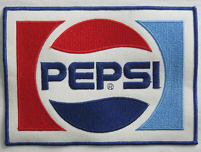 Patch Large Pepsi Soda Pop 8 3/8 by 6 vintage New Old Stock NOS