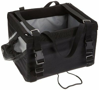 NEW Trixie Front-Box Basic for Bicycles  38 × 25 × 25 cm  Black/ Grey