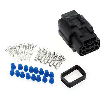 Sealed Electrical 1 Kits 8 Pin Way Waterproof Wire Connector Plug Set Car