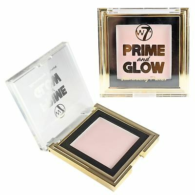 Prime & Glow Illuminating Primer Foundation Base Pore Reducing Make Up By W7