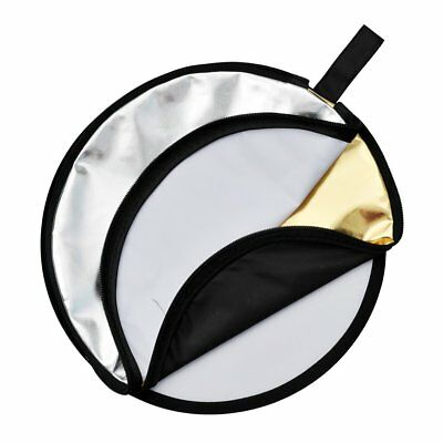 "Godox 2 in 1 Collapsibl​e 60cm 23"" Lighting Diffuser Round Reflector Disc + Bag"