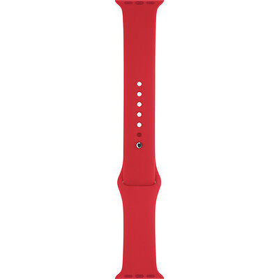 Apple Watch Sport Band (38mm, PRODUCT(RED), Stainless Steel Pin, Sm/Med/Lg - NO