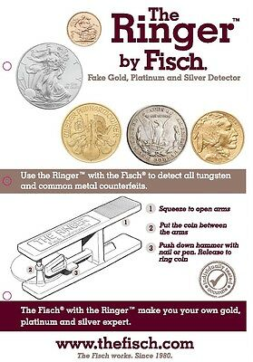 The Ringer by Fisch - Fake Gold, Platinum and Silver Detector