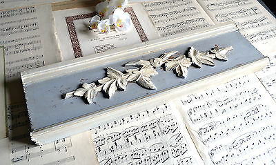 Ornate Antique French Wooden Panel Pediment Fronton architectural salvage