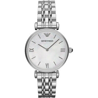 Emporio Armani® watch AR1682 Ladies CLASSIC  Mother of Pearl