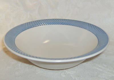 International China PASSAGES BLUE Soup Cereal Bowl