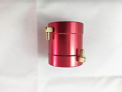 I.D. 40mm x L 55mm Alloy Water cooling Jacket Red for  Brushless Motor R/C Boat
