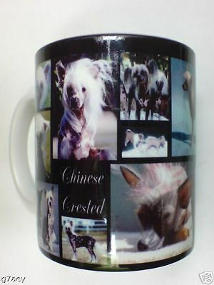 Chinese Crested Montage Coffee Mug Can Be Personalised