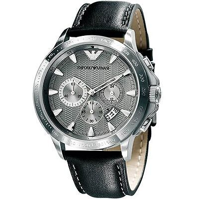 Emporio Armani® watch AR0635 Men`s Silver Stainless