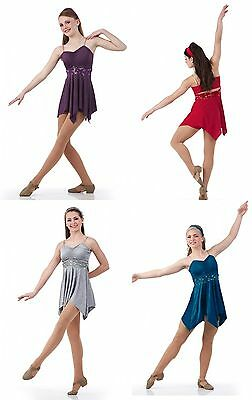 Safe and Sound Ice Skating Dress Lyrical Contemporary Ballet Tap Dance Costume