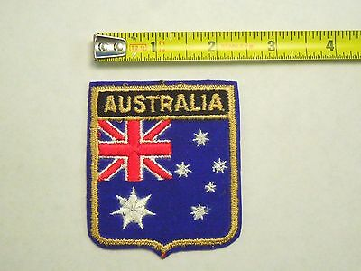 Australia National Country Flag Iron On Patch Emblem.