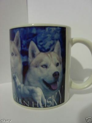 Siberian Husky Dogs (Red & White)  Coffee Mug