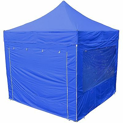 Hamilton 6.0 x 3.0m Navy Blue Side Walls For Semi-Pro Shade Marquee - Race/Rally