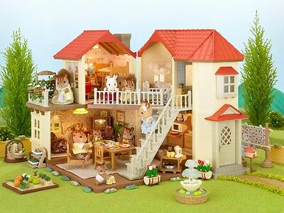 Lit the Sylvanian Families house lights big house Ha -44 from japan