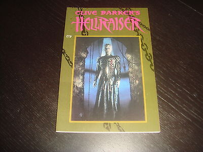 HELLRAISER COLLECTION Vol.1  Collects 1-4 GN TPB Cllive Barker Epic Comics NM