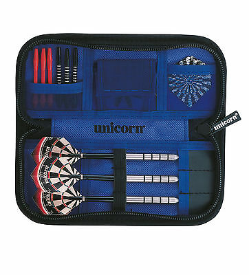 Unicorn Midi Darts and Accessory Case / Wallet - Small Black and Compact