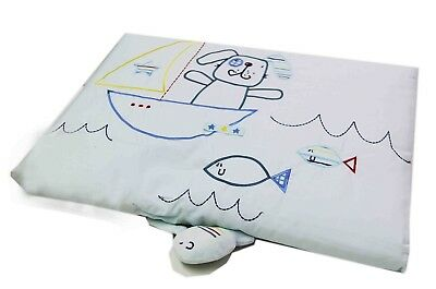 Lollipop Lane Fish and Chips Steppdecke, Baby-Decke O23E0-MM488