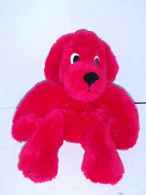 "SCHOLASTIC CLIFFORD THE BIG RED DOG BACKPACK Plush 15"" Stuffed Animal Full Body"