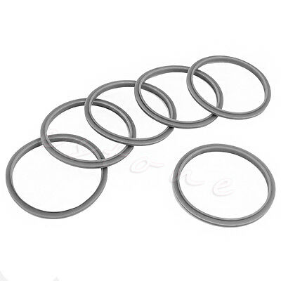 6Pcs Replacement Rubber Seal Ring Gaskets For Magic Bullet Flat ...