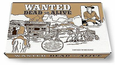 Marx Wanted Dead or Alive Play Set Box