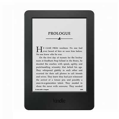 Amazon Kindle 7th Gen Touch Screen 2014, 4GB, Wi-Fi, 6in - Black (WP63GW)