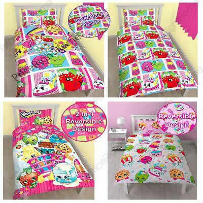 Shopkins Single Duvet Cover Sets Kids Bedding *in Stock Now*