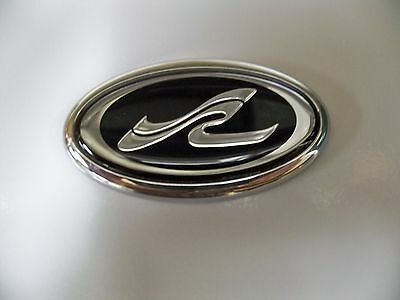 Sea Ray Emblem Oval SR WAVE LOGO for Steering Wheel, Glove box New Searay OEM