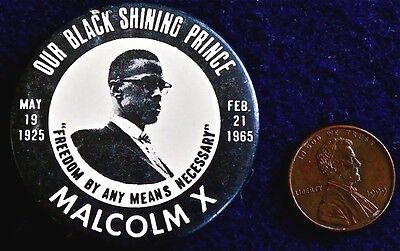 """Malcom X - """"by Any Means Necessary"""" 1965 Nyc  Original The Real Stuff Rare"""