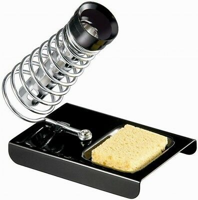 Soldering iron stand Filing Holder with sponge tray