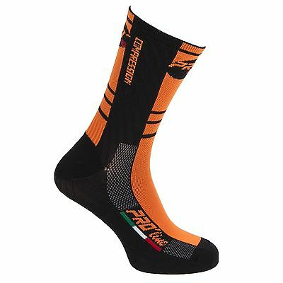 Calzini Ciclismo Running Proline Thermoline Cycling Socks Thermo 1 Paio New