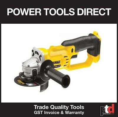 New Dewalt 18V Angle Grinder Cordless 125Mm Dcg412M2 Bare Tool Skin Only