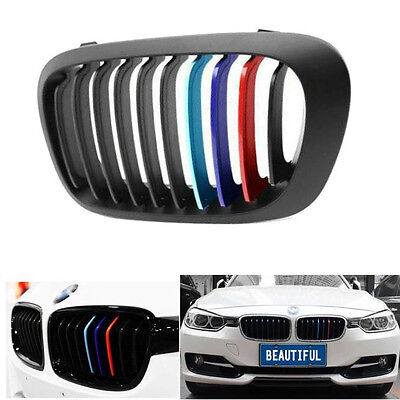 3 Pcs 25cm X 5cm Grill Car Sticker for BMW E30 E36 E39 E46 E60 E65 Z3 Z4 E90 E91