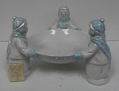 Avon 2002 President's Club Holiday Gift Collection. Avon Snowlady. First Edition