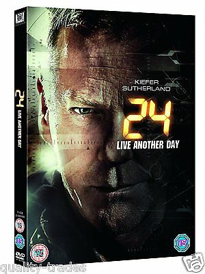 ❏ 24 Live Another Day DVD + BONUS FEATURES ❏ Complete Series 9 Jack Bauer