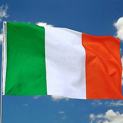 Irish Country Ireland National Flag Celebration Hanging Banner 3x5Ft 90x150cm