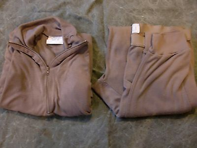 Med military lightweight cold weather long underwear long johns set - very good