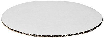 "WPCC08 Round Cake, Pizza 8"" Pad, Non Grease Proof, Paper Board, (Pack Of 100)"