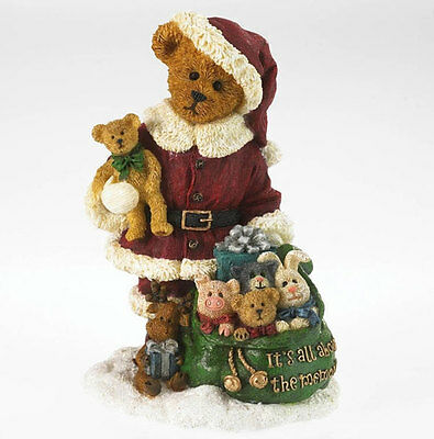 Boyds Bears Christmas 1E 20th Kringle & Co Thanks For Memories Figurine 4034164