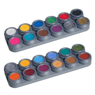GRIMAS Water Make up Kinderschminke Theaterschminke Palette 24 Farben